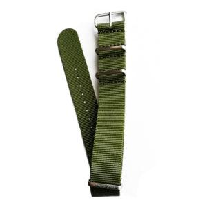 Bracelet NATO Kaki Nylon