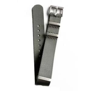 Grey Strap Nato Seat Belt