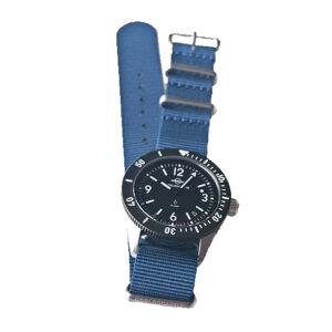 Bracelet NATO Nylon Bleu